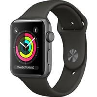 Apple Watch S3 GPS, 42mm viền nhôm, dây màu đen