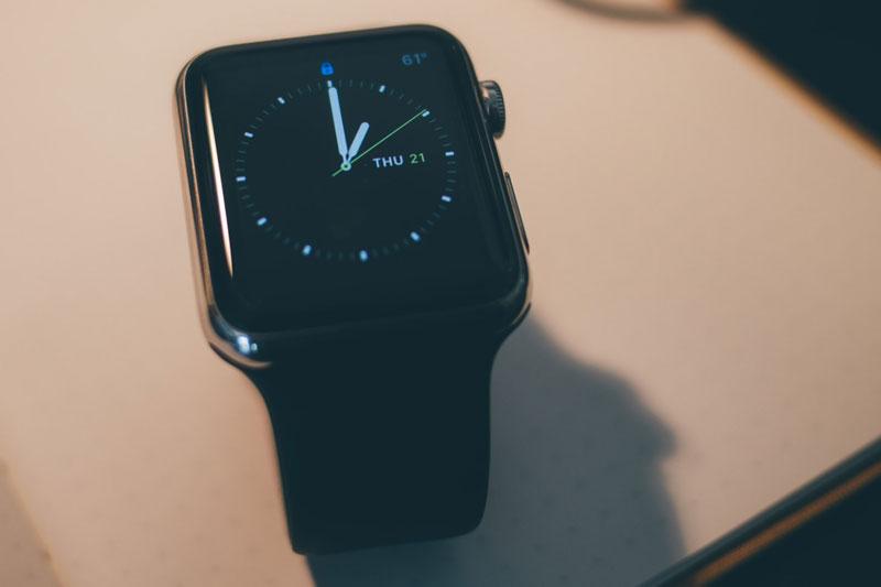 Hiệu năng chip trên Apple Watch S3 GPS, 42mm viền nhôm, dây cao su màu đen