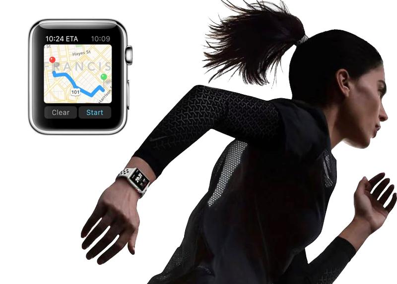 Đồng hồ Apple Watch 3 có gắn SIM - Apple Watch hỗ trợ tốt trong quá trình tập thể dục