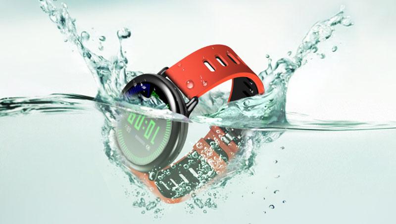 Smartwatch Xiaomi Amazfit Pace GPS Đen - Chuẩn kháng nước IP67