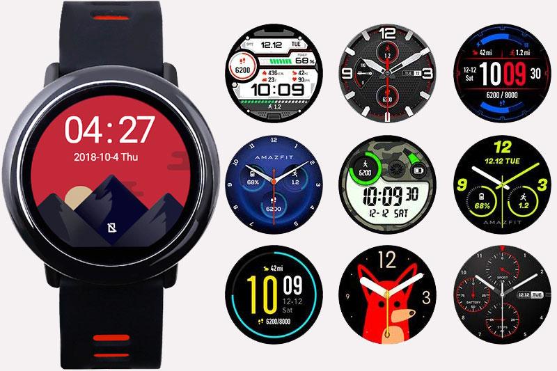 Smartwatch Xiaomi Amazfit Pace GPS Đen - Thay đổi mặt đồng hồ tiện lợi