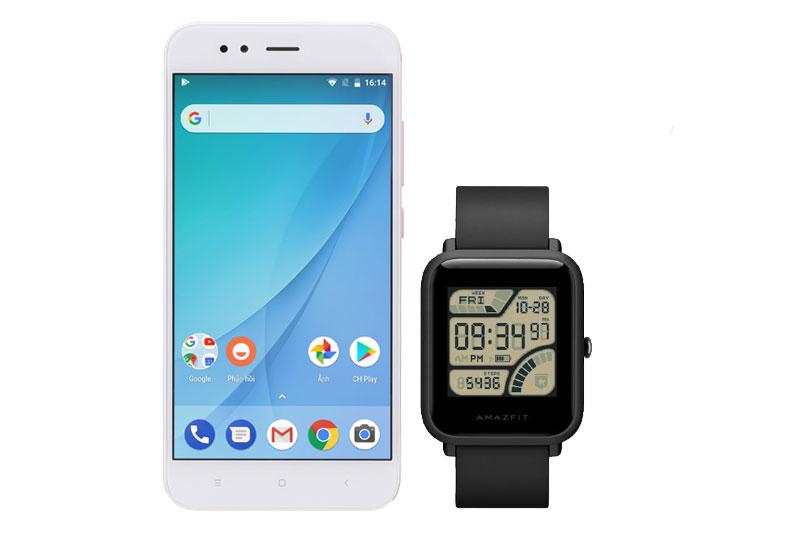 Tính năng luôn luôn hiển thị trên smartwatch Xiaomi Amazfit Bip Đen