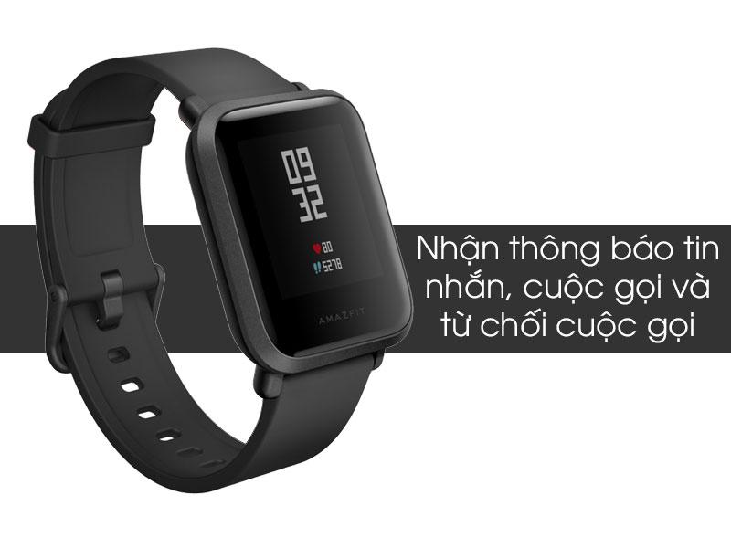 Tính năng trên smartwatch Xiaomi Amazfit Bip Đen