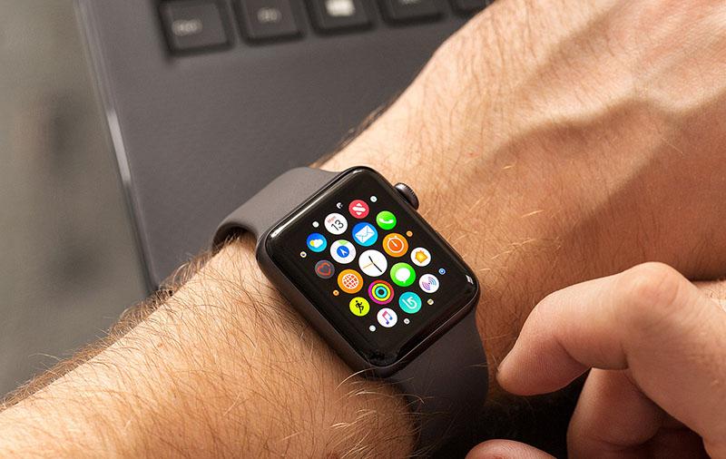 Các tính năng trên Apple Watch S3 GPS, 38mm viền nhôm, dây màu trắng xám