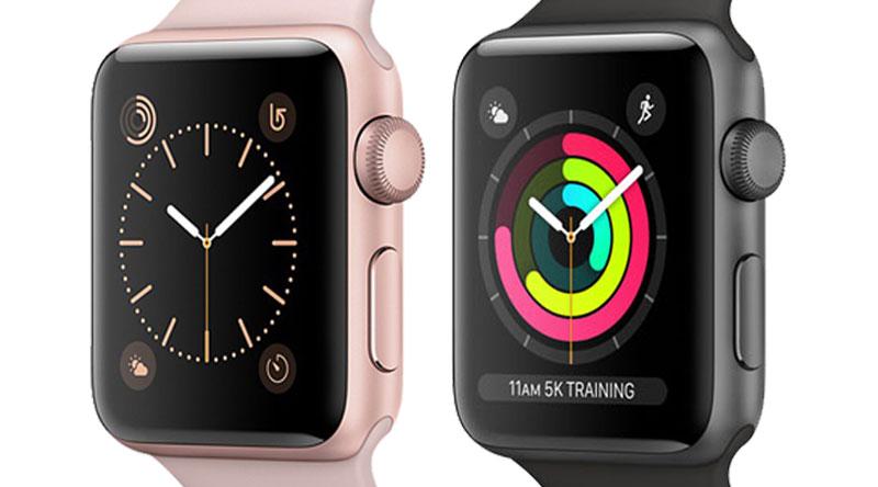 Màn hình Apple Watch S3 GPS, 38mm viền nhôm, dây màu trắng xám