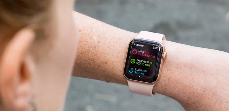 theo dõi sức khỏe - Apple Watch S4 GPS, 40mm Viền Nhôm màu hồng