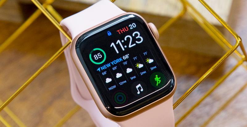 tổng quan - Apple Watch S4 GPS, 40mm Viền Nhôm màu hồng