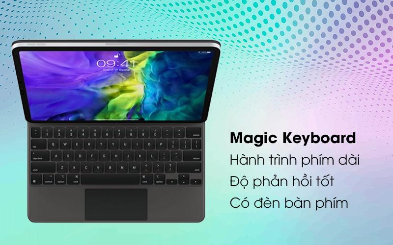 Bàn phím Magic Keyboard 2 cho iPad Pro 11 inch Apple MXQT2 - Bàn phím gõ