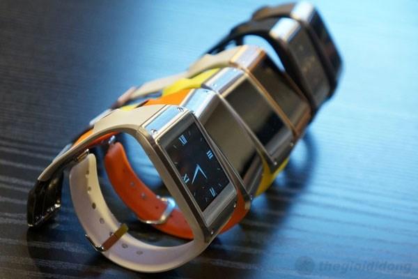 Galaxy Gear với rất nhiều màu sắc cho bạn chọn lựa