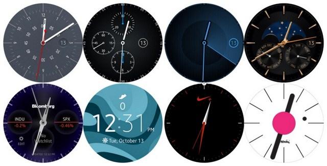 Nhiều tùy chỉnh màn hình đồng hồ đẹp mắt