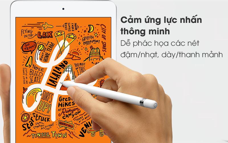 Bút cảm ứng Apple Pencil Gen 1 - Cảm ứng lực nhấn