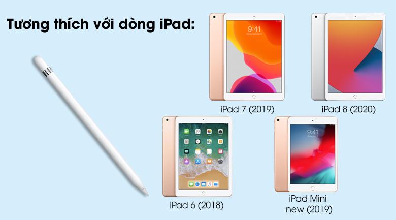 Bút cảm ứng Apple Pencil Gen 1 - Làm việc tối ưu với các dòng iPad