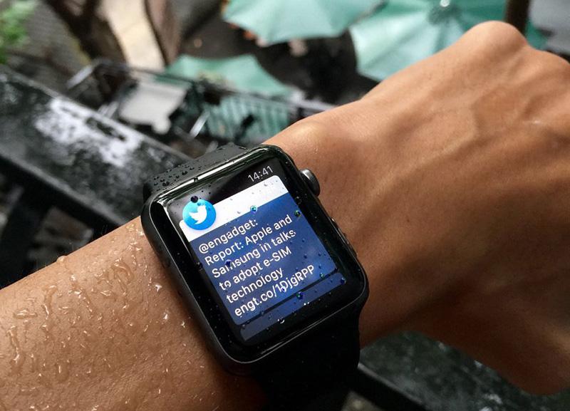 Apple Watch S1 42mm - Chống nước hiệu quả