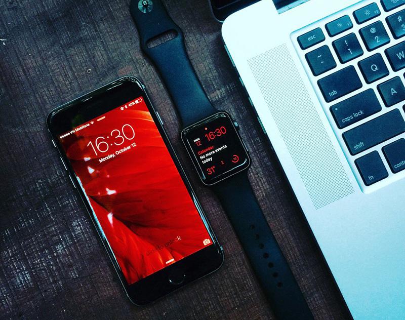 Apple Watch S1 42mm -Tương thích dễ dàng với các thiết bị của Apple