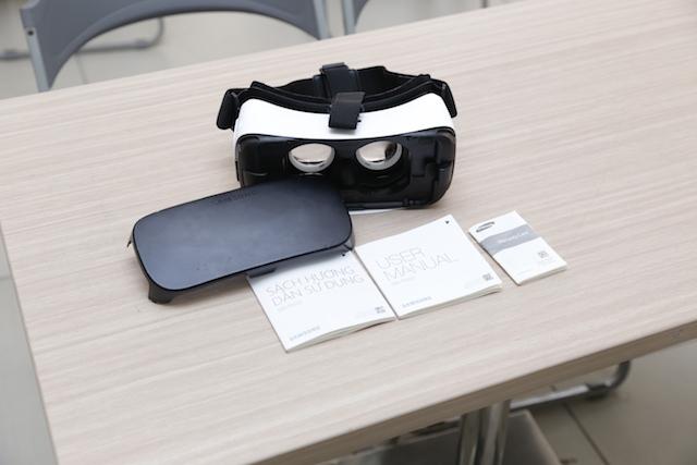 Một bộ sản phẩm của Gear VR