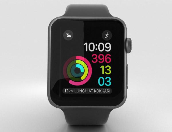 Apple Watch S2 42mm - Màn hình sáng hơn