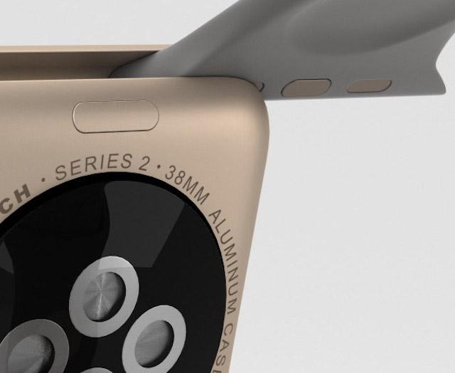 Apple Watch S2 38mm - Phần dây này cũng có thể dễ dàng để thay thế