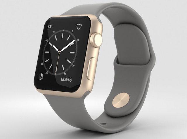 Apple Watch S2 38mm - Màn hình này chỉ bật sáng khi bạn đưa tay lên xem đồng hồ