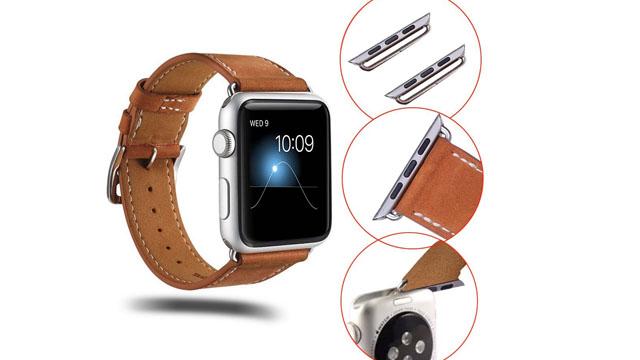 Apple Watch S2 38mm - Dây da sang trọng