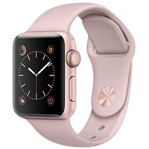 Apple Watch S2 38mm mặt nhôm, dây cao su màu hồng