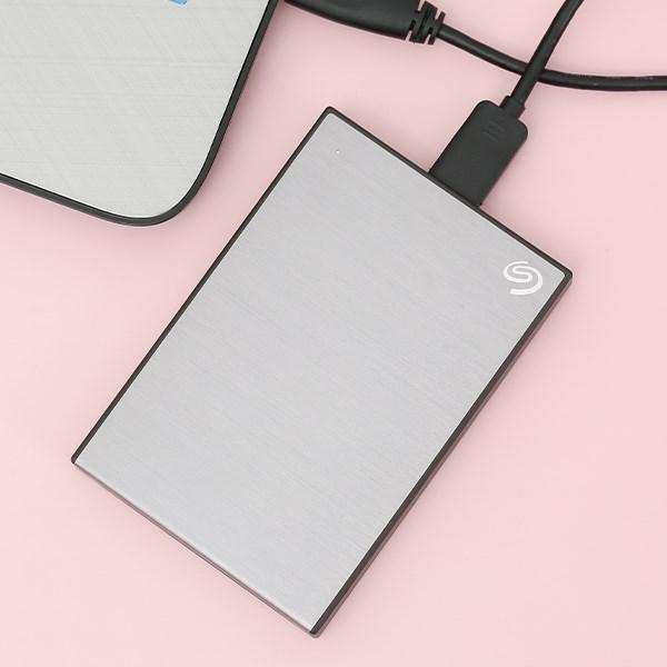 Ổ cứng HDD 2TB Seagate Backup Plus Slim STHN2000406 Xám