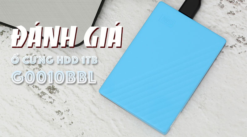 Ổ cứng HDD 1TB WD My Passport G0010BBL Xanh Dương