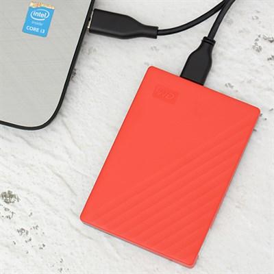 Ổ cứng HDD 1TB WD My Passport G0010BRD Đỏ
