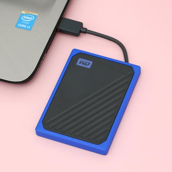 Ổ cứng SSD 500GB WD My Passport GO Xanh Dương