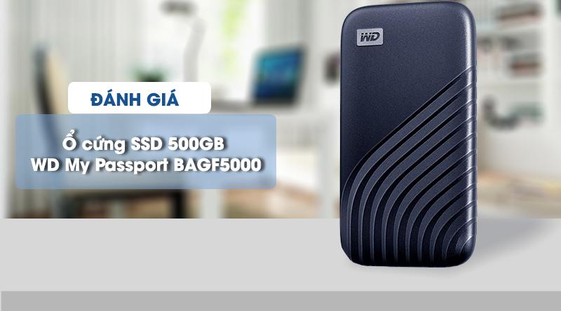 Ổ cứng SSD 500GB WD My Passport BAGF5000