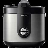 Nồi cơm nắp gài Philips HD3128/66 Bạc