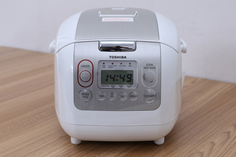 Nồi cơm điện tử Toshiba RC-10NMFVN(WT)
