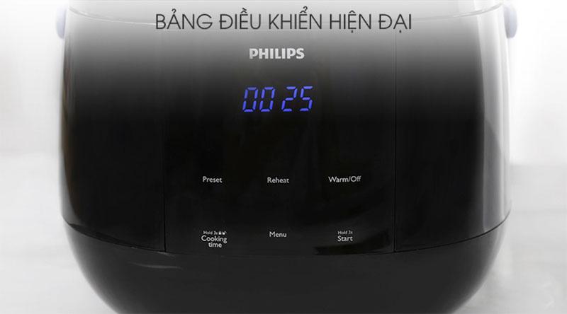 Bảng điều khiển nồi cơm điện tử Philips 0.7 lít HD3060