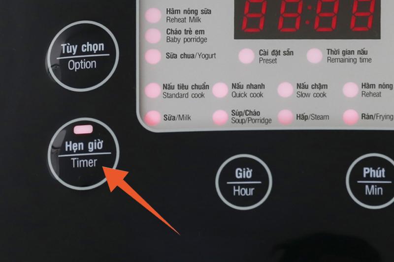 Nồi cơm điện Sunhouse mama 1.8 lít SHD8903 - Hẹn giờ nấu xong tiện dụng