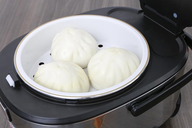 Nồi cơm điện Sunhouse mama 1.8 lít SHD8903 - Xửng hấp giúp hấp thức ăn dễ dàng