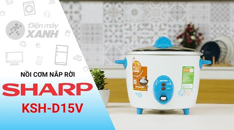 Nồi cơm điện Sharp 1.5 lít KSH-D15V