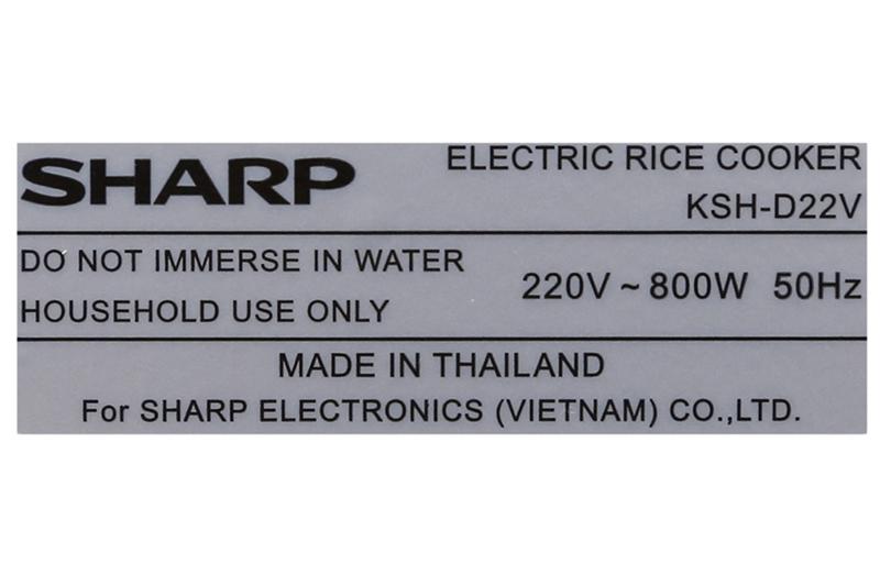 sharp-ksh-d22v-7