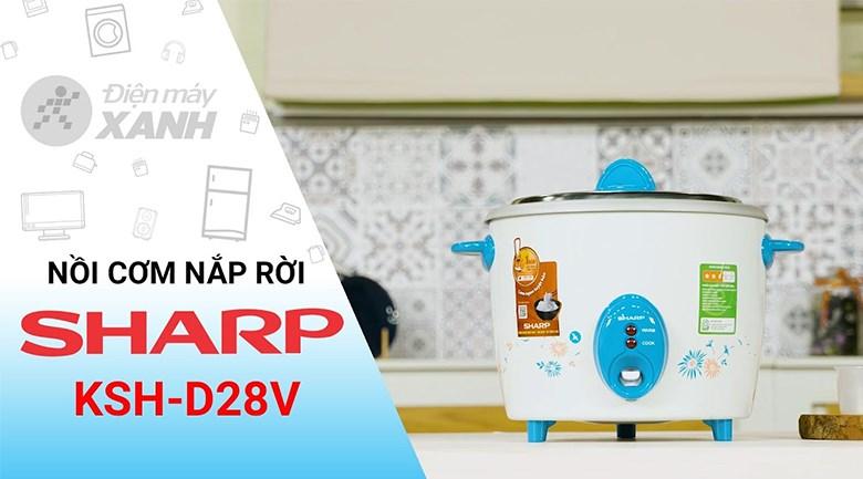 Nồi cơm điện Sharp 2.8 lít KSH-D28V