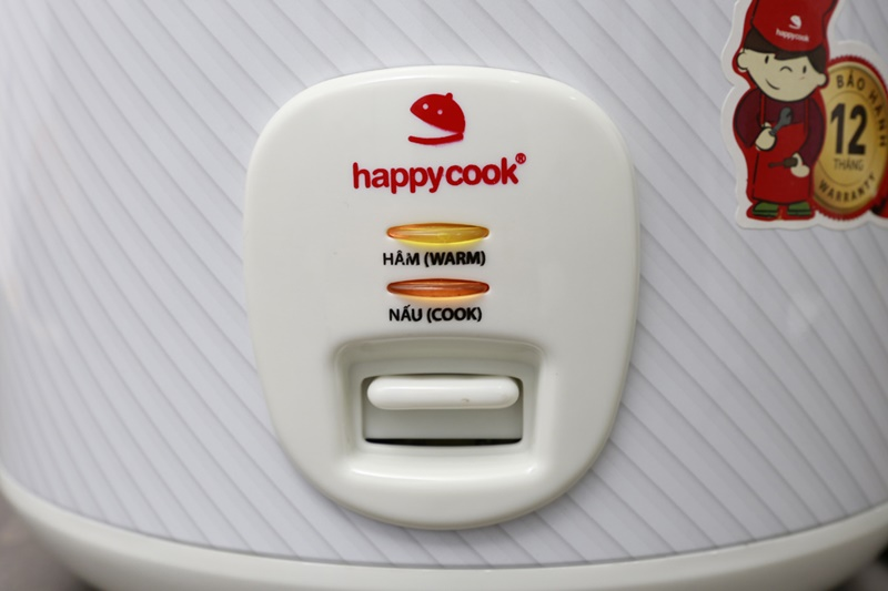 Nồi cơm điện Happycook 2.8 lít HCJ-280