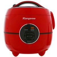 Nồi cơm điện  Kangroo 1.2 lít KG822 đỏ