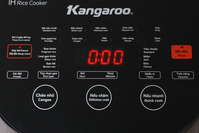Nồi cơm điện tử Kangaroo 1.8 lít KG599N