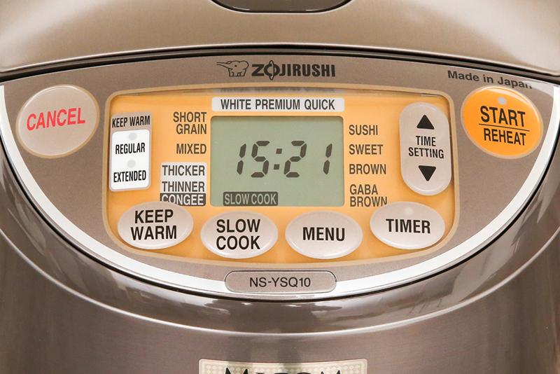 Điều khiển điện tử - Nồi cơm điện tử Zojirushi 1 lít NS-YSQ10-XJ