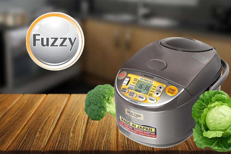 Nấu ngon với công nghệ Fuzzy Logic - Nồi cơm điện tử Zojirushi 1 lít NS-YSQ10-XJ