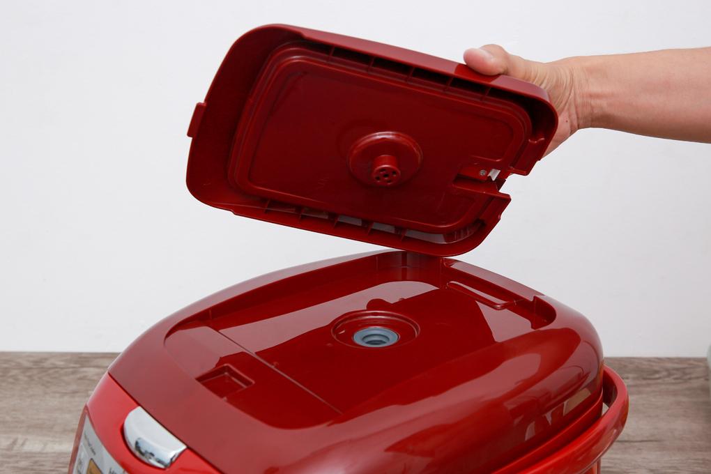 Van thoát hơi thông minh đảm bảo độ dẻo của cơm, giữ lại nhiều dưỡng chất trong gạo - Nồi cơm điện tử Hitachi RZ-D18VFY 1.8 lít