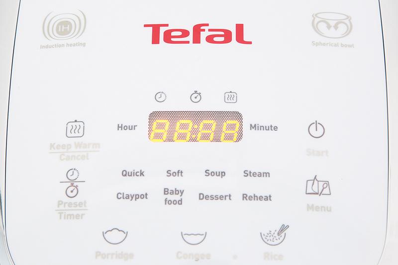 Đa chức năng tiện dụng - Nồi cơm điện từ Tefal RK 604165