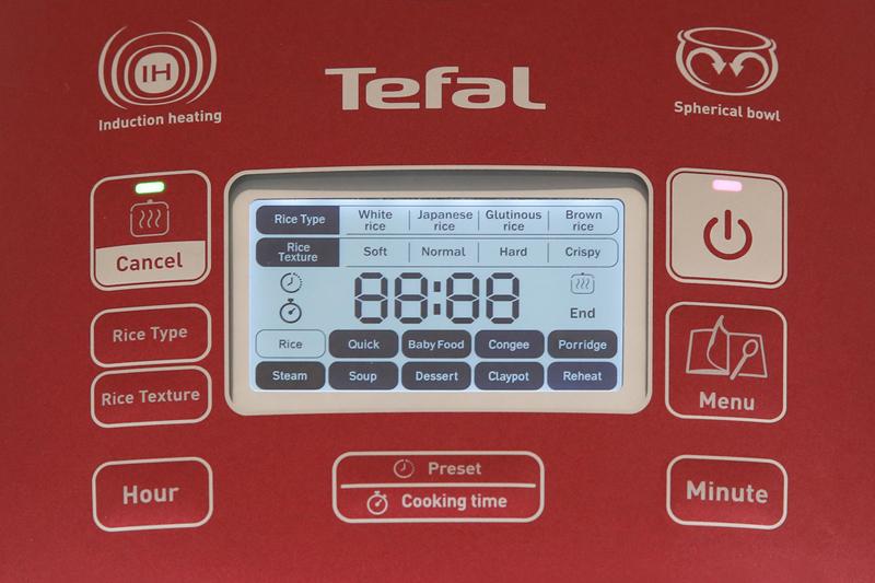 Hiện đại, đa chức năng tiện dụng - Nồi cơm điện từ Tefal RK 803565