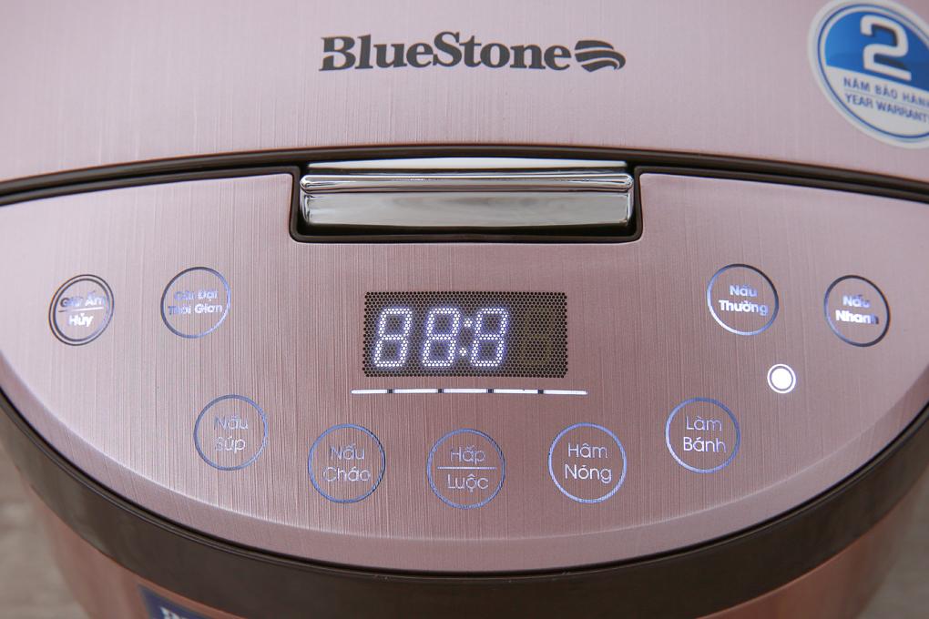 Bảng điều khiển cảm ứng chỉ dẫn tiếng Việt kết hợp màn hình hiển thị sắc nét - Nồi cơm điện cao tần Bluestone 1.5 lít RCB-5987