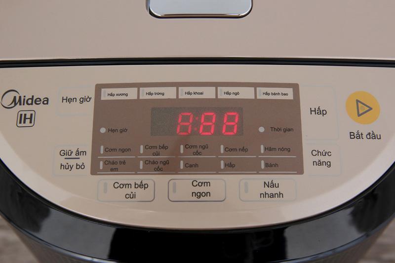 Dễ dùng - Nồi cơm điện cao tần Midea 1.8 lít MB-HS5007