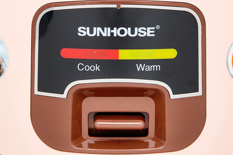 Nồi cơm nắp gài Sunhouse 1 lít SHD8208C