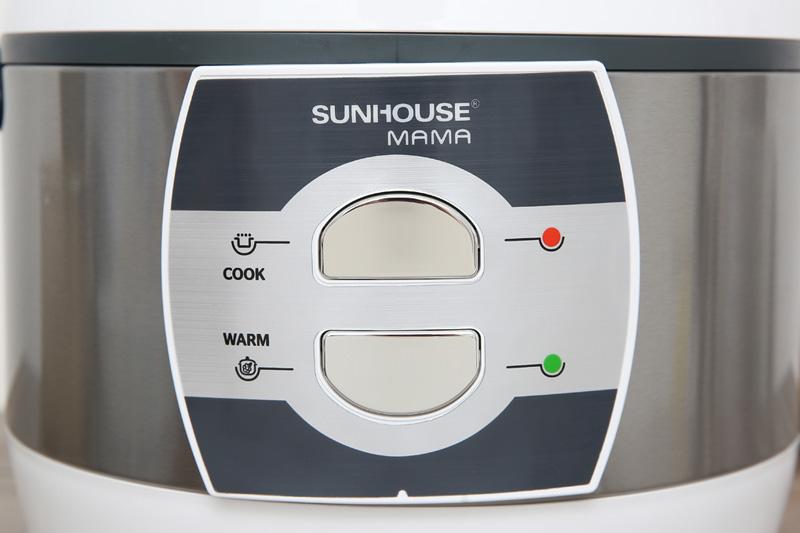 Dễ dùng - Nồi cơm nắp gài Sunhouse MAMA 1.8 lít SHD8628