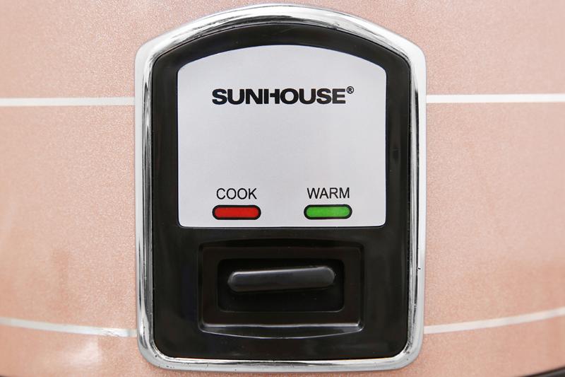 Dễ dùng - Nồi cơm nắp rời Sunhouse 1.2 lít SHD8105